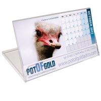 Long Jewel Case Desk Calendar