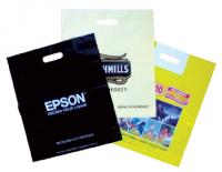 Patch polythene carrier bag