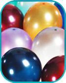 Metallic balloon