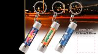 Full Colour Metal Torch Keyring