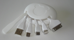 Silicon Teddy USB Charger