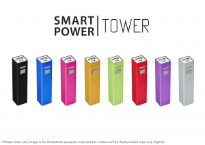 2200MaH Smart Tower Powerbank