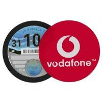 MAGNETIC PAPER TAX ROUND DISC HOLDER.
