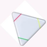 Triangular Highlighter (Line Colour Print)