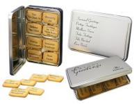 Logo Biscuits in Rectangular Tin