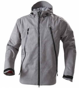 Men and Women's Melange Effect Jacket
