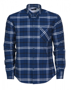 Men and Women's Checked Flannel Shirt