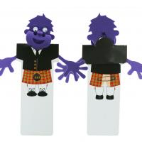 BB6 Cheeky Bookmark Scotsman