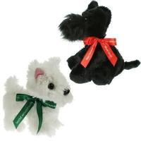 15cm Scottie Dog Bow