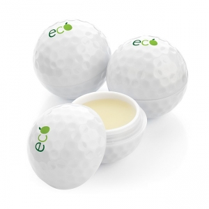 Golf Ball Shaped Lip Balm Pot