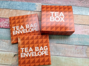 Tea Bag Envelope Box
