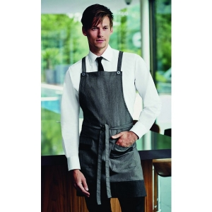 Grey Denim Bib Apron