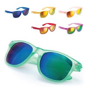 Mirrored Lense Wayferer Style Sunglasses