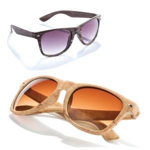 Wood Effect Sunglasses