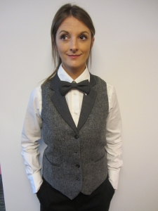 Men and Women's Tweed Waistcoat