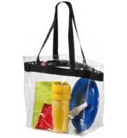 Clear PVC Beach Bag