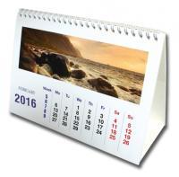 A5 Wiro Desk Calendar