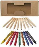 19 piece pencil and crayon set