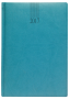 NEWHIDE A5 DESK DIARY WITH WHITE WEEK TO VIEW PAPER