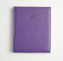 NEWHIDE MANAGEMENT QUARTO DESK DIARY WITH WHITE WEEK TO VIEW PAPER
