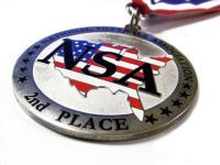 Die Stamped Hard Enamel Medal