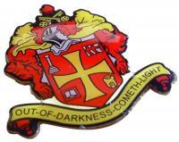 Printed Aluminium Badge