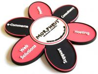 Coaster in stepped 2d Soft PVC