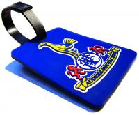 Luggage Tag in stepped 2d Soft PVC