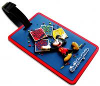 Luggage Tag in 3D soft PVC
