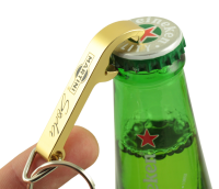 Aluminium Bottle Opener Keyring - 55*9*4mm