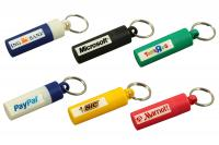Plastic Canister Keyring