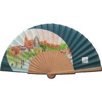 FL-903 Spanish Style Fabric Fan