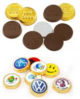 30mm Chocolate Coin