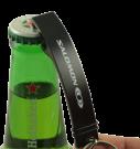 Aluminium Bottle Opener Keyring - 80*15*3mm