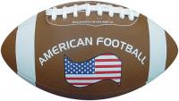 Size 1 promotional American Football Rubber