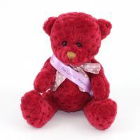 15cm Berry Waffle bear sash