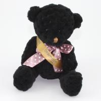 15cm Coal Waffle bear sash