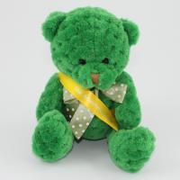 15cm Kelly Green Waffle bear sash