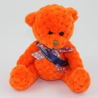 15cm Pumpkin Waffle bear sash