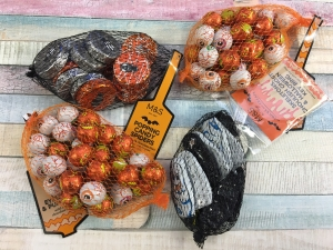 Halloween Chocolate Nets