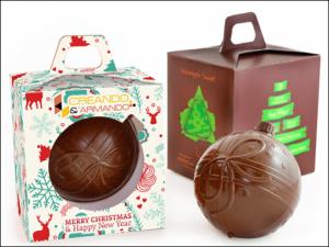 Belgian Chocolate Bauble