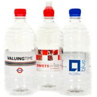 Personalised Plastic Bottled Water (750ml)