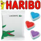 Promotional Haribo Foam Sugar Heart Bag