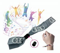FABRIC WRISTBAND WITH DYE SUBLIMATION PRINT