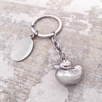 Duck Keyring With Crystals