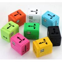 Travel Adapter with USB ports (UK, US and EU)