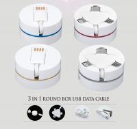 3 in 1 retractable cable (type C, Micro, Lightening)