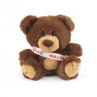 15cm Charlie Bear Chocolate Sash