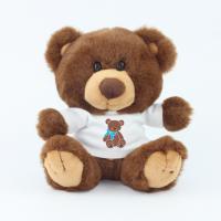 15cm Charlie Bear Chocolate Tshirt