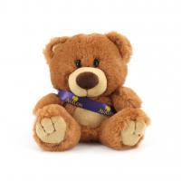 15cm Charlie Bear Caramel Sash